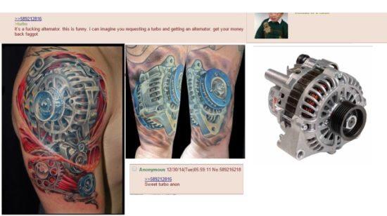Tattoo dynamo