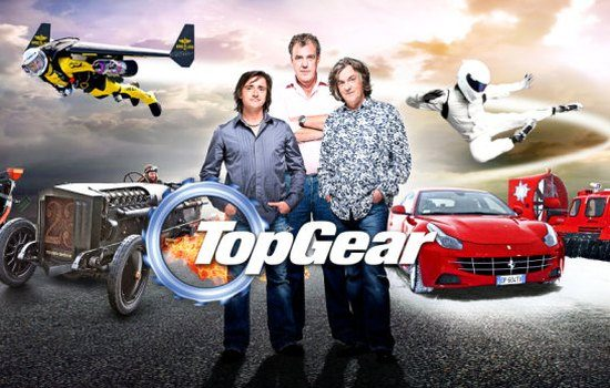 Top Gear trio