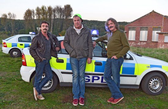 'Nieuwe show Clarkson, May en Hammond heet Gear Knobs