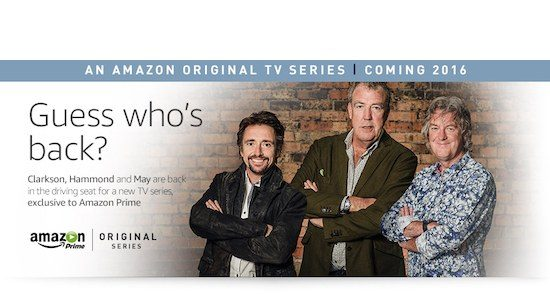 Top Gear on Amazon Prime