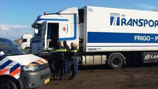 Trucks teruggevonden in Nederland na diefstal
