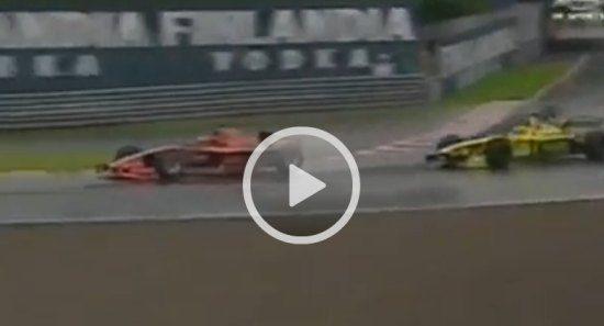 Verstappen in 2000