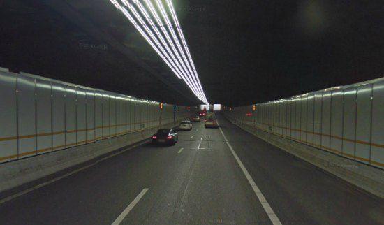 Vlaketunnel via Gmaps