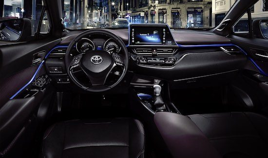 Crossover op crossover autonieuws for Toyota chr interieur