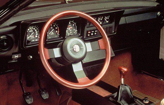 GTV6 interieur