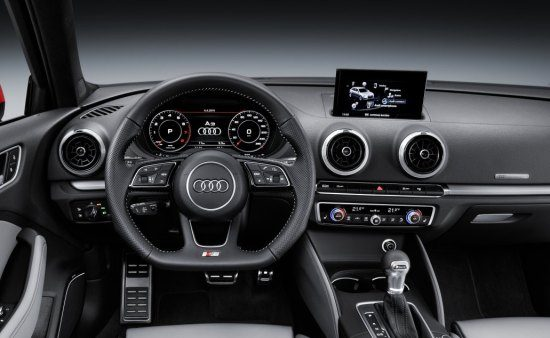 Audi S3 facelift interieur