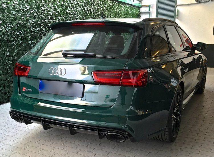 Lekker? Een boswachtersgroene Audi RS6