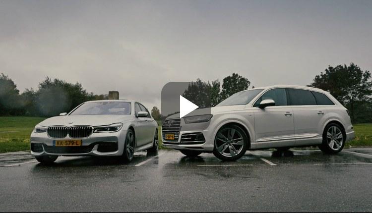 Audi SQ7 4.0 TDI quattro en BMW 750Ld xDrive