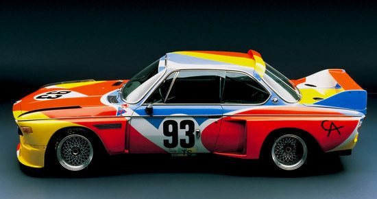 BMW 3.0 CLS Art Car