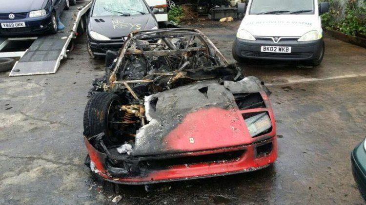 Dus je hebt net je Ferrari F40 gerestaureerd...