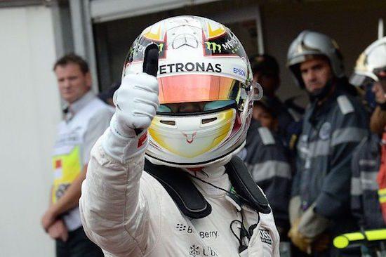 Hamilton zegt toppiejoppie
