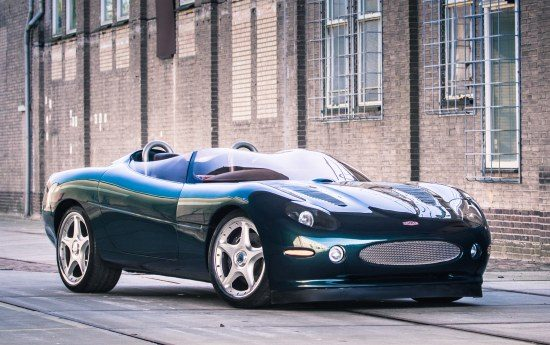 Jaguar XK180 uit NL