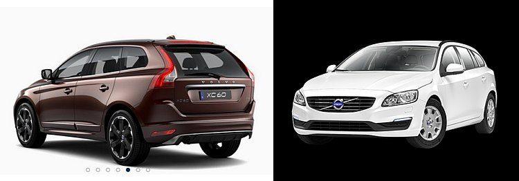 Lease-maar: XC60 versus V60