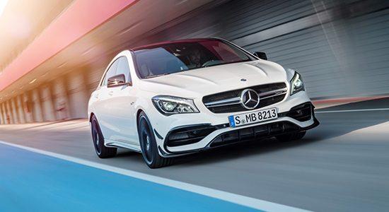 Mercedes CLA45 krijgt ook een brutere snoet
