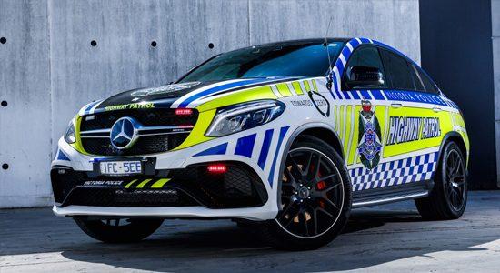 Mercedes GLE63 S politie