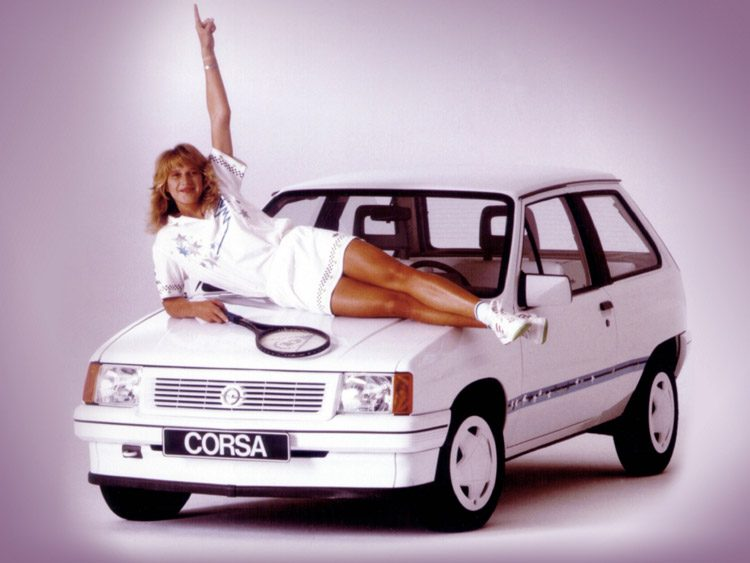 Opel Corsa Steffi Graf Special