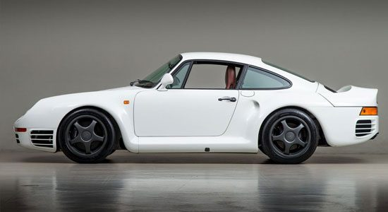 Porsche 959 van Bruce Canepa