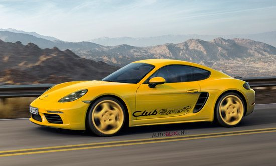 Porsche 718 Cayman Clubsport