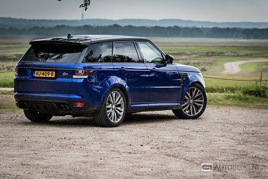 Range Rover Sport SVR: rijtest en video