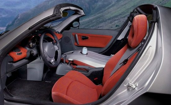 Smart Roadster interieur