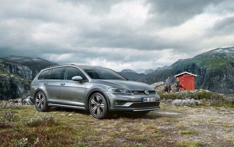 Hij komt, hij komt: de VW Golf Variant Alltrack