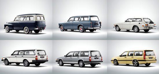 Volvo-stationwagens