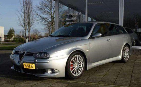Te koop: Alfa 156 GTA met 340 pk voor 27.500 euro