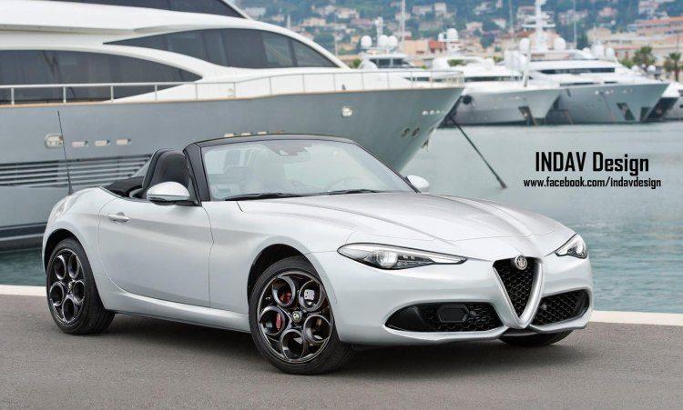 Wij willen deze Alfa cabrio