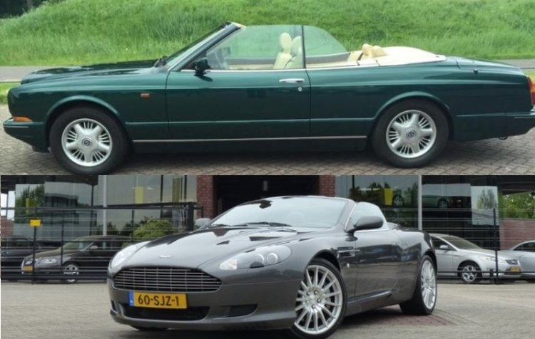 Occasion kies maar: Bentley Azure of AM DB9 Volante