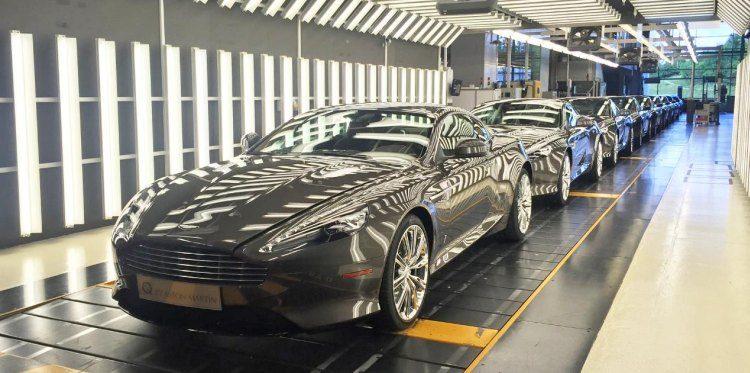 Wij gaan de Aston Martin DB9 missen