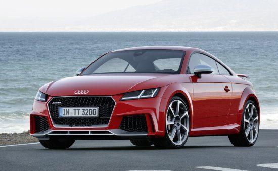 Officieel! De nieuwe Audi TT RS, inclusief cabrio