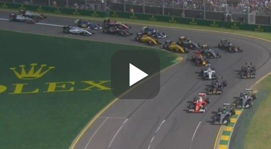 Highlights! De GP van Australië 2016 in 8 video
