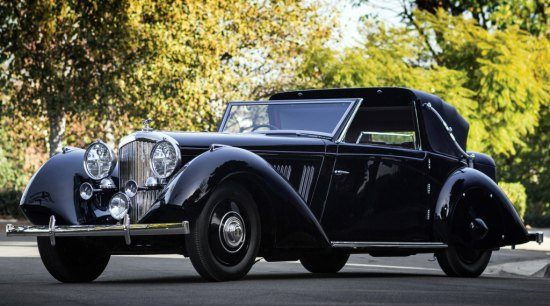 Bentley 3.5 Sedanca Coupé 1936