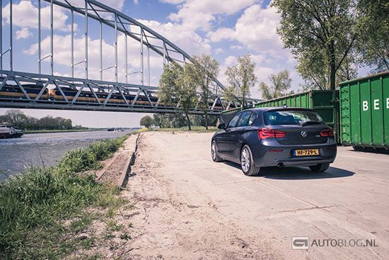 BMW 118i LCI rijtest en video