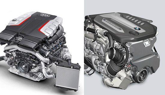 BMW versus Audi diesel