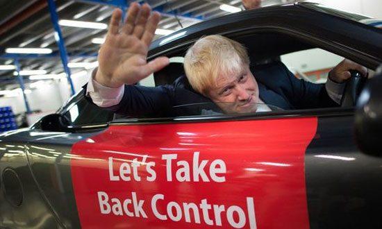 Boris bedankt!
