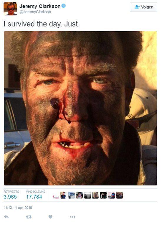 Jeremy Clarkson bloed