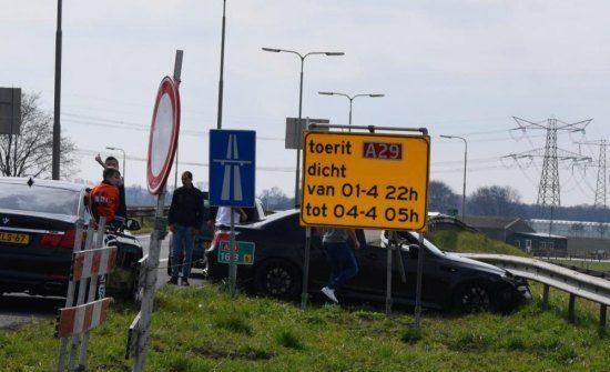 Gespot: BMW M5 crasht tijdens supercarmeeting