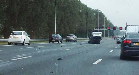Crash snelweg