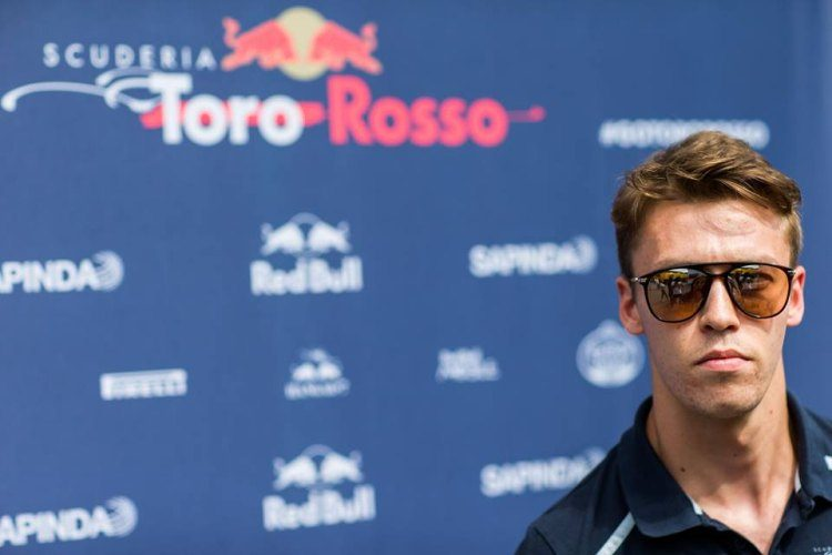 Zo praat Kvyat over de switch naar Toro Rosso