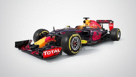 Red Bull Racing-TAG Heuer RB12 geeft je vleugels
