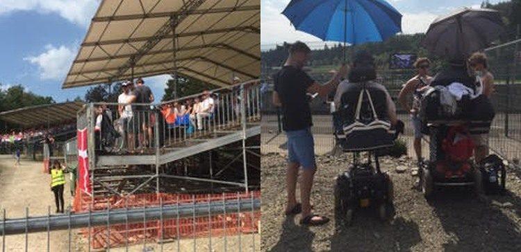 F1 Spa gehandicapt