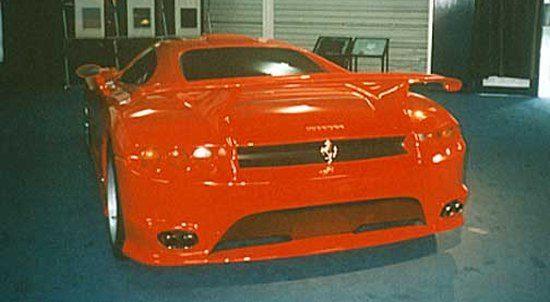 Ferrari F50 Bolide