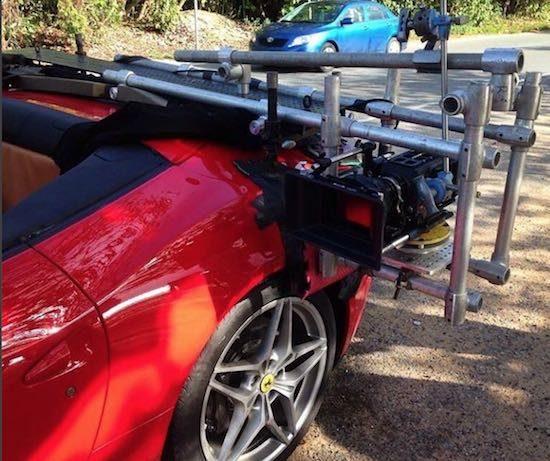 Ferrari car rig