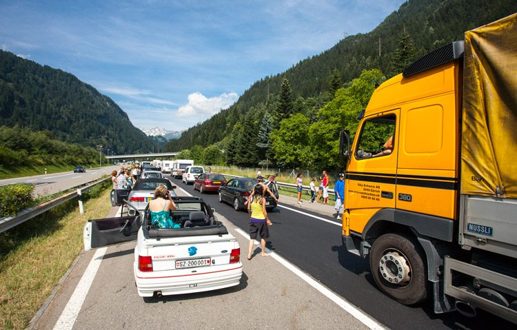 File in Zwitserland