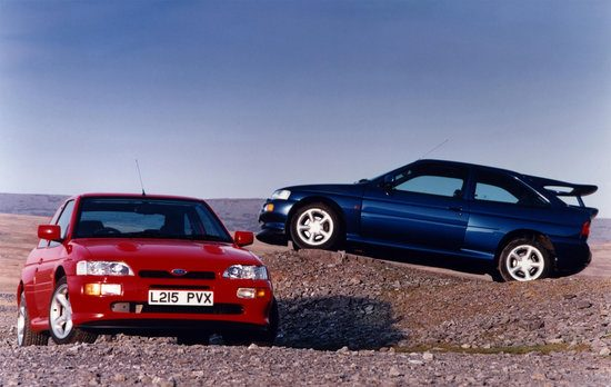 Cosworth. En nog een Cosworth.