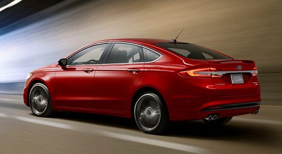 Ford Fusion 2016 = Ford Mondeo 2017