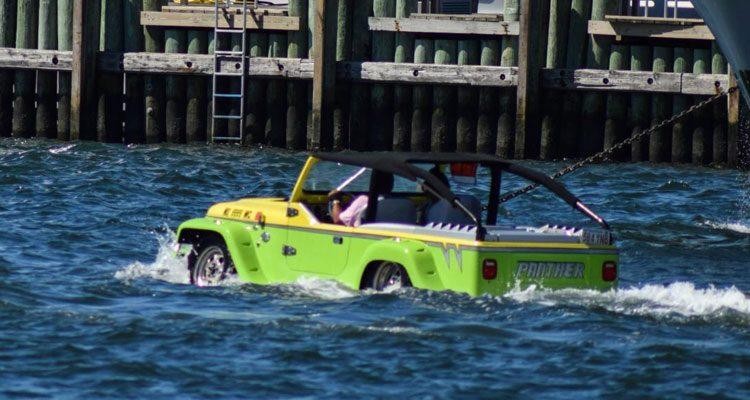 Gespot: Panther Amphibious Car