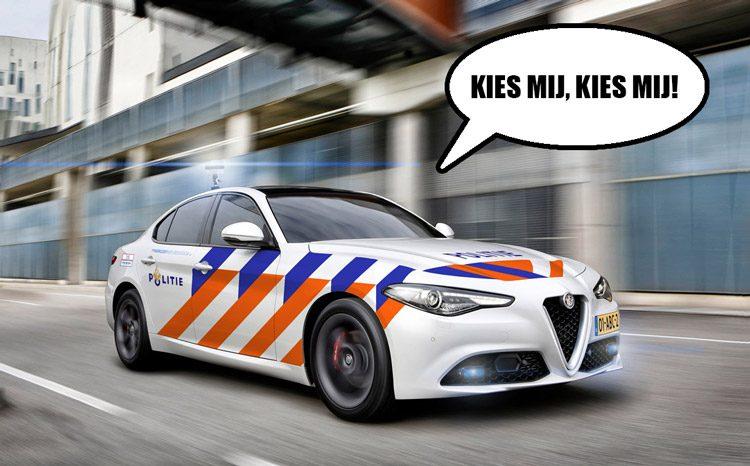 Aanbesteding politieauto