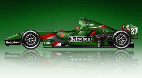 BREEK! Heineken gaat geld in de Formule 1 pompen
